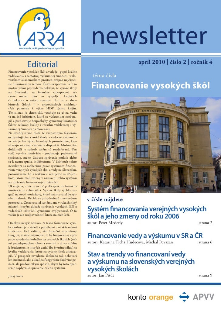 newsletter                                                                                      apríl 2010   číslo 2   roč...