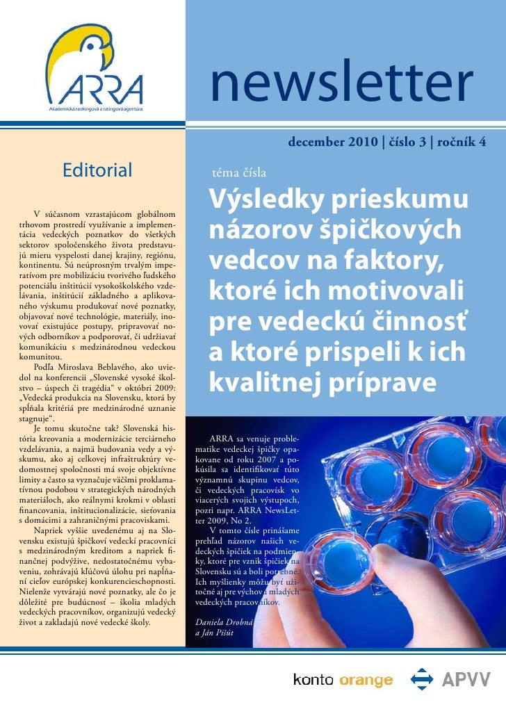 newsletter                                                                          december 2010   číslo 3   ročník 4    ...