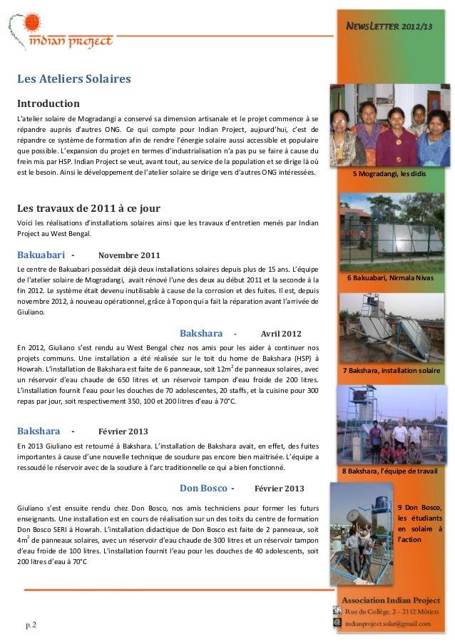 Newsletter 2012 13-fr Slide 2