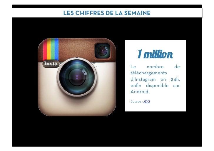 LES CHIFFRES DE LA SEMAINE                        1 million                    Le      nombre   de                    télé...