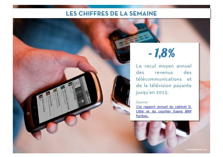 LES CHIFFRES DE LA SEMAINE                                - 1,8%                    Le recul moyen annuel                 ...