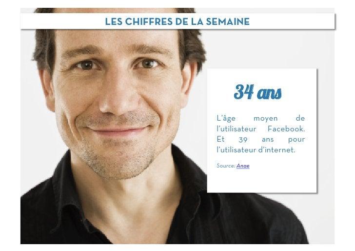 LES CHIFFRES DE LA SEMAINE                          34 ans                    L'âge       moyen         de                ...