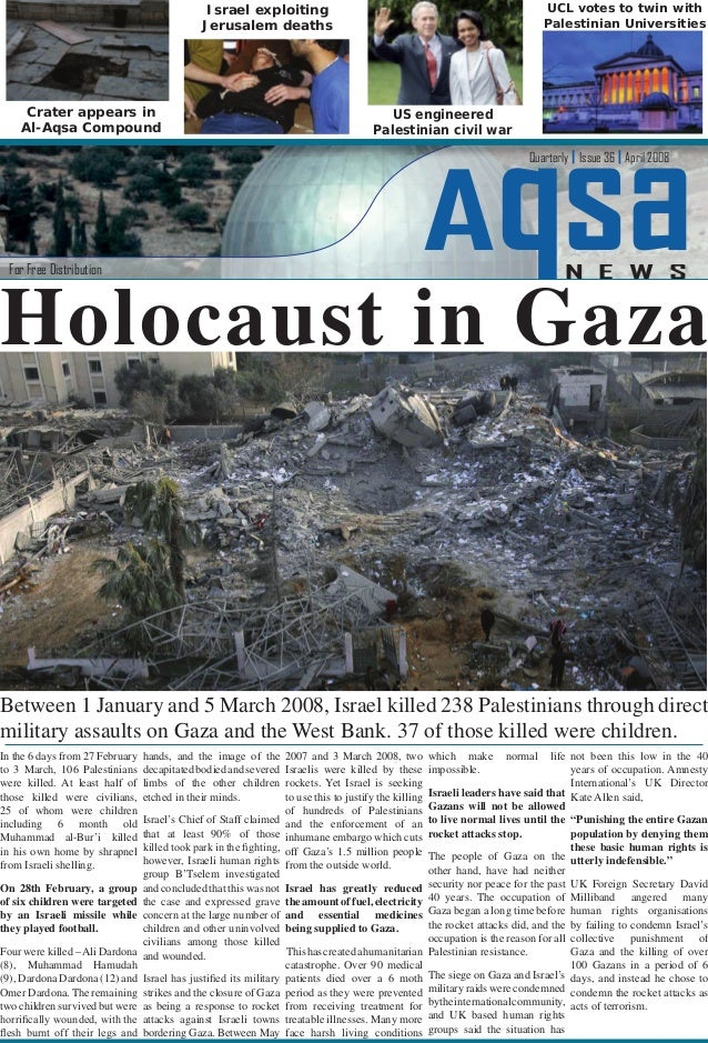 In the 6 days from 27 February to 3 March, 106 Palestinians were killed. At least half of those killed were civilians, 25 ...