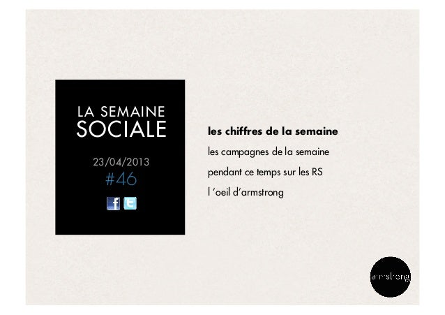 La semaine sociale by armstrong - 240413 Slide 3
