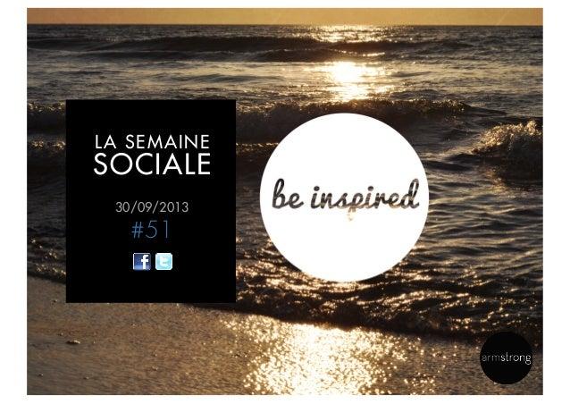30/09/2013 #51 LA SEMAINE SOCIALE