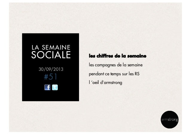 La semaine sociale by armstrong - 300913 Slide 2