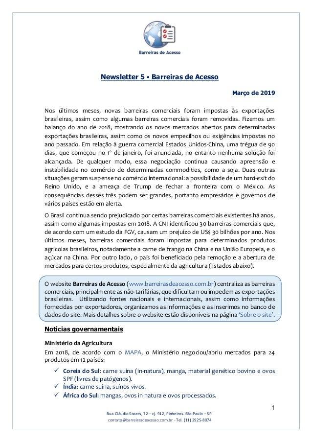 1 Rua Cláudio Soares, 72 – cj. 912, Pinheiros. São Paulo – SP. contato@barreirasdeacesso.com.br - Tel. (11) 2925-8074 News...
