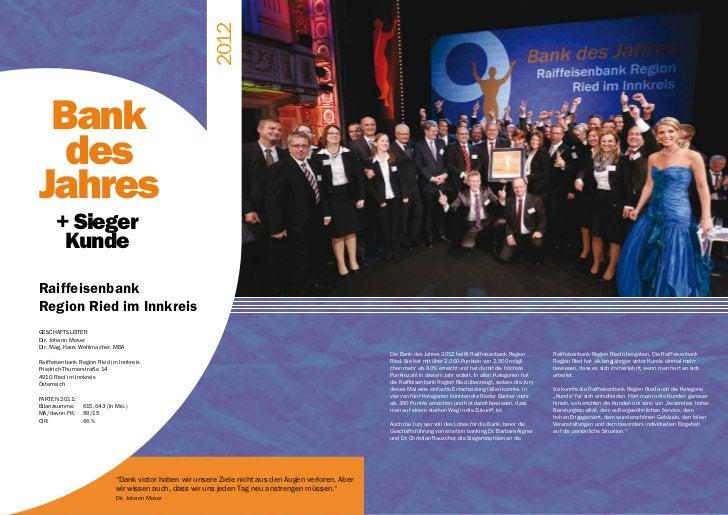 victor GALA 16                                                        2012 Bank  desJahres      + Sieger       KundeRaiffe...