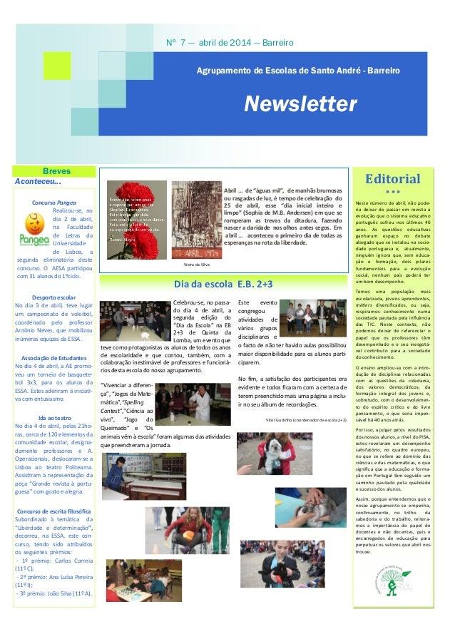 """Celebrou-se, no passa- do dia 4 de abril, a segunda edição do """"Dia da Escola"""" na EB 2+3 de Quinta da Lomba, um evento que ..."""