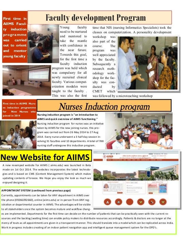 Newsletter achievements AIIMS 2013 14 Slide 3