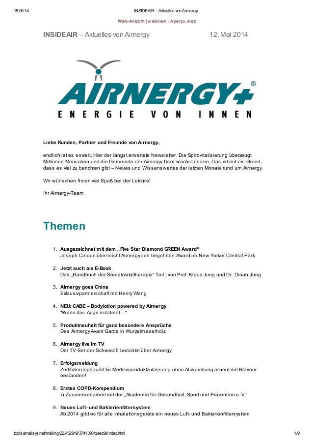 18.06.14 INSIDEAIR – Aktuelles von Airnergy tools.emailsys.net/mailing/22/452919/3741390/qeez9t/index.html 1/9 Web-Ansicht...