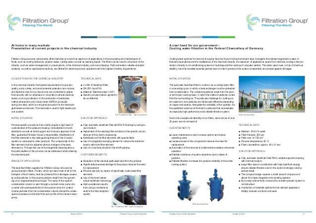 Filtration Group (Mahle Industrial Filtration) - Newsletter