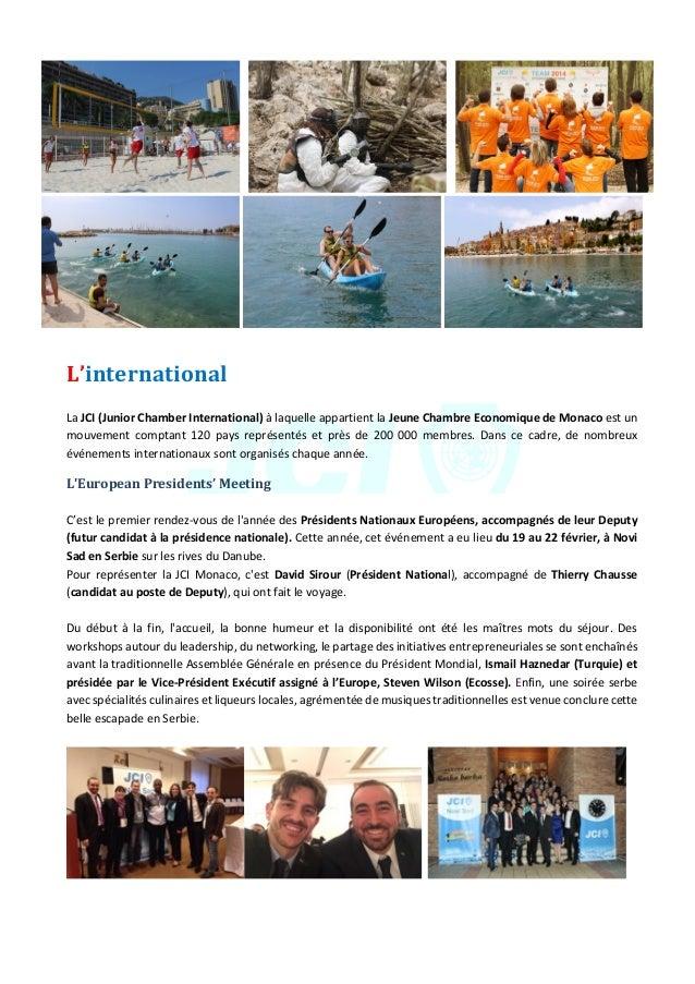 JeuneChambreEconomiquedeMonaco-Newsletterbiannuelle-juillet2015  10      L'international  LaJCI(Jun...