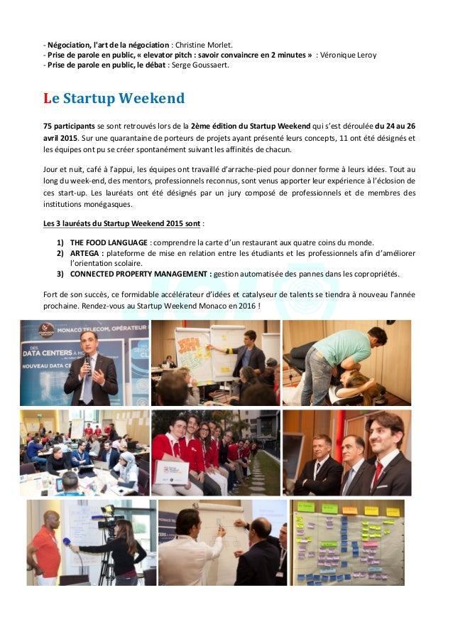 JeuneChambreEconomiquedeMonaco-Newsletterbiannuelle-juillet2015  4 -Négociation,l'artdelanégociation:C...