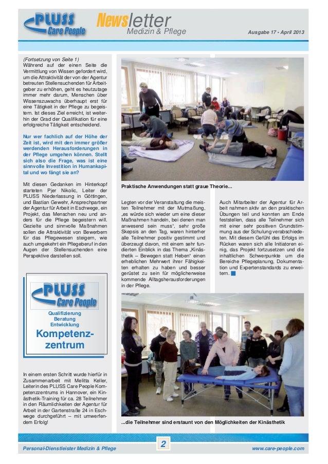 Newsletter Pluss Care People Vol. 17 Slide 2