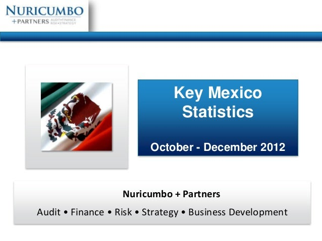 Key Mexico                               Statistics                         October - December 2012                   Nuri...