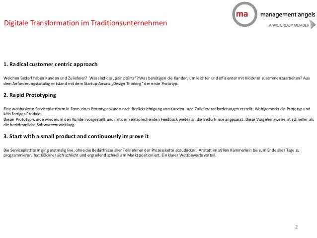 Newsletter Digitale Transformation Slide 2