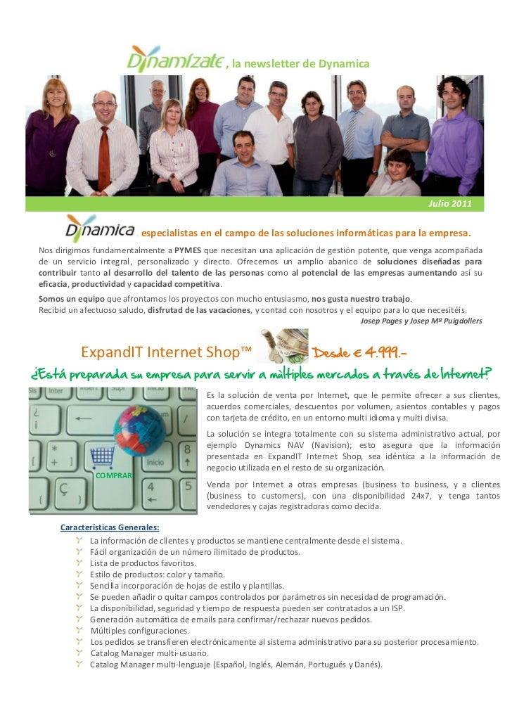 , la newsletter de Dynamica                                                                                               ...