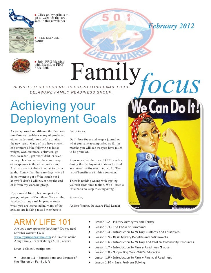  Click on hyperlinks to                  go to websites that are                  seen in this newsletter                ...