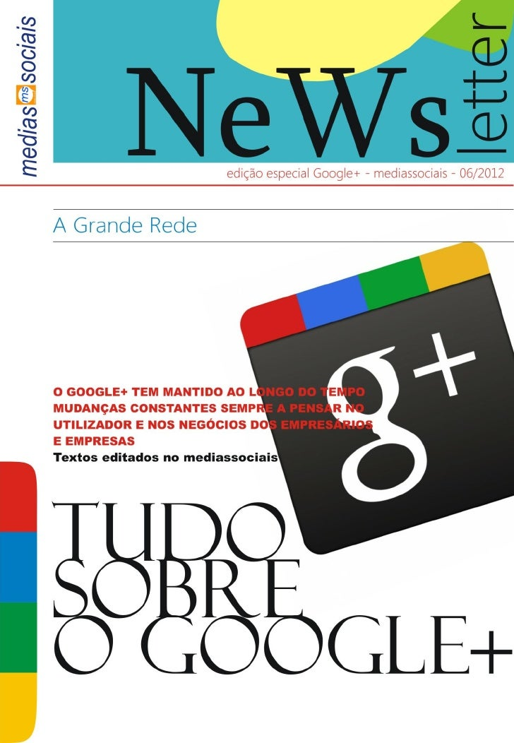 Newsletter google+