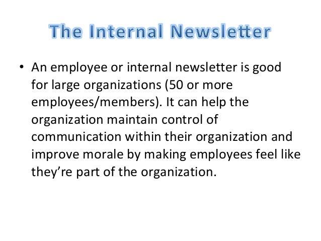 internal news letter