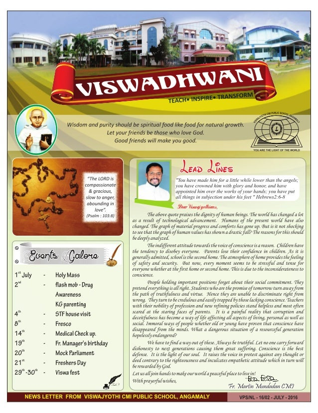 Viswadhwani July 2016