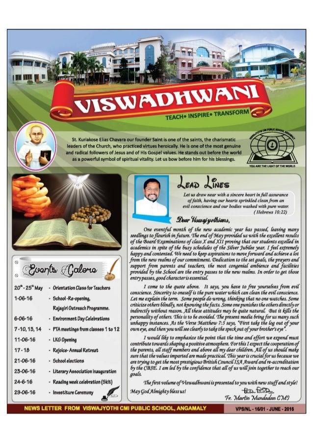 Viswadhwani June 2016