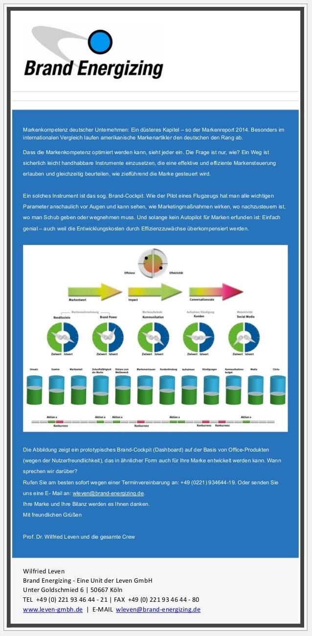 Von: Brand Energizing wleven@brand-energizing.de Betreff: Mehr Markenkompetenz? Datum: 4. April 2014 15:22 An: info@held-d...