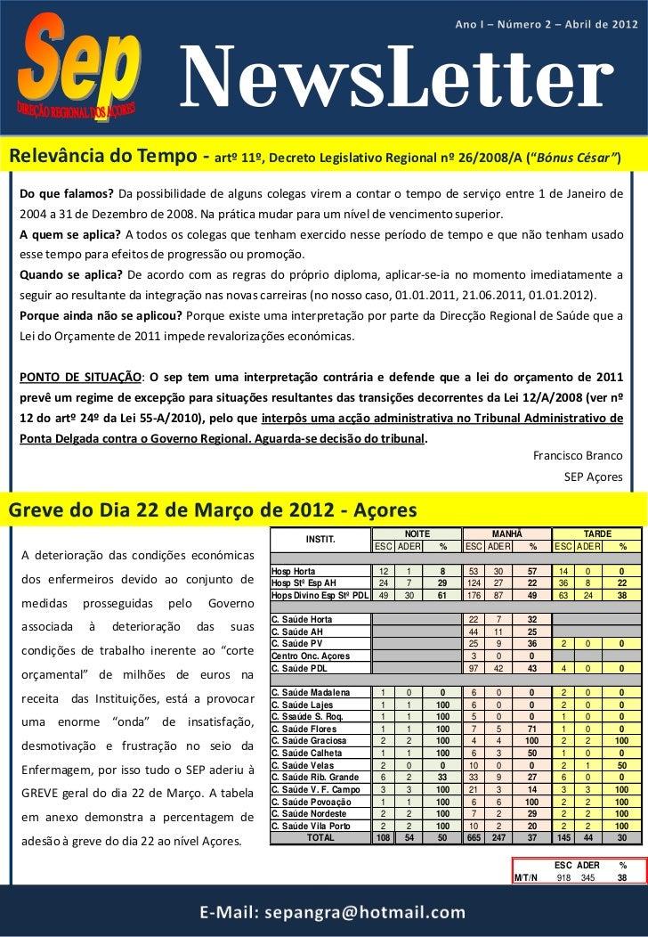"""Relevância do Tempo - artº 11º, Decreto Legislativo Regional nº 26/2008/A (""""Bónus César"""") Do que falamos? Da possibilidade..."""