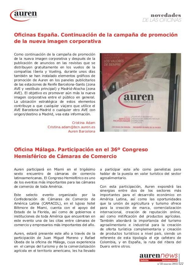 Auren newsletter marzo 2015 for Oficinas de vueling en barcelona