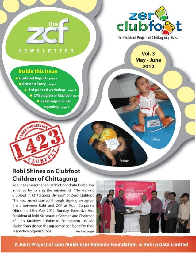 Zero Clubfoot Newsletter 3