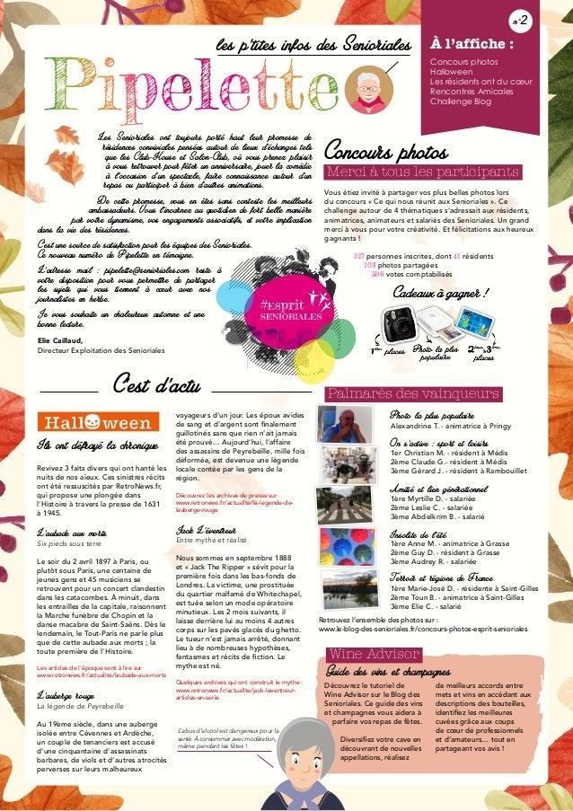 Découvrez le tutoriel de Wine Advisor sur le Blog des Senioriales. Ce guide des vins et champagnes vous aidera à parfaire ...