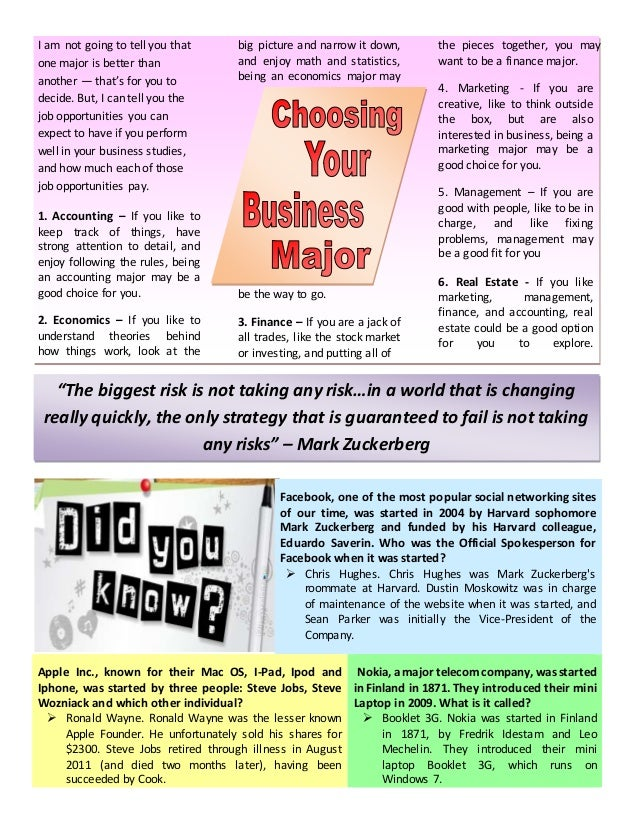 Sample Newsletter  Page