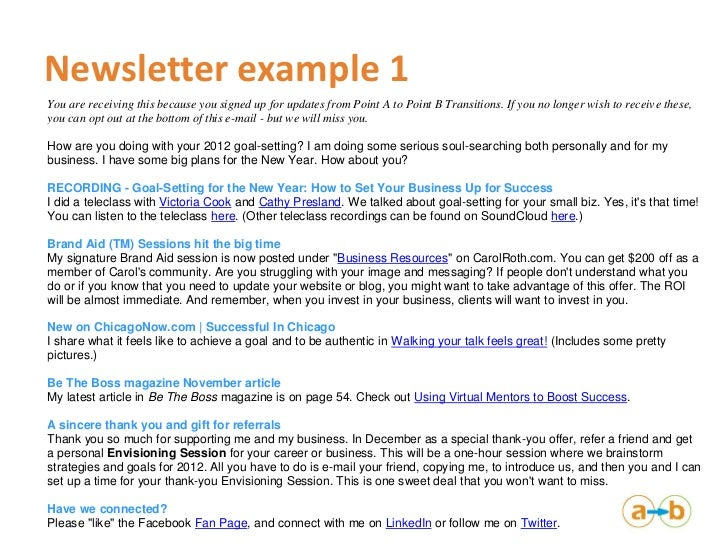 Intro to Newsletters And Blogging