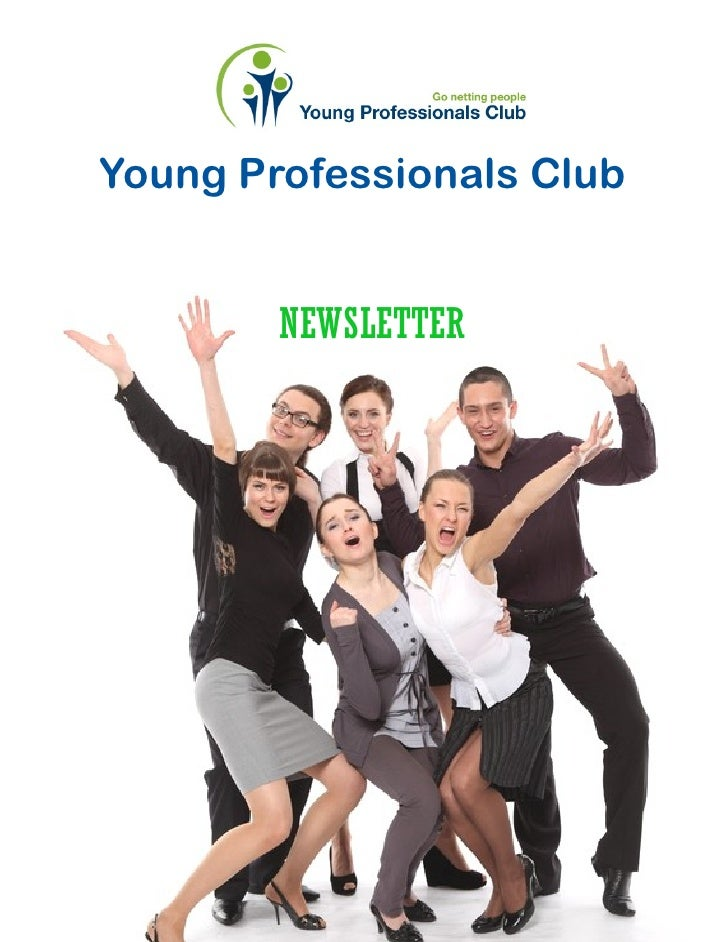 Young Professionals Club        NEWSLETTER