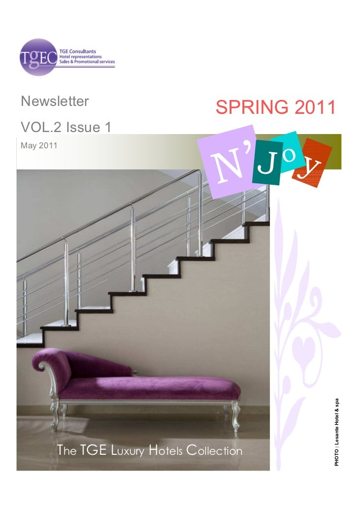 Newsletter                                  SPRING 2011VOL.2 Issue 1                                    'May 2011         ...