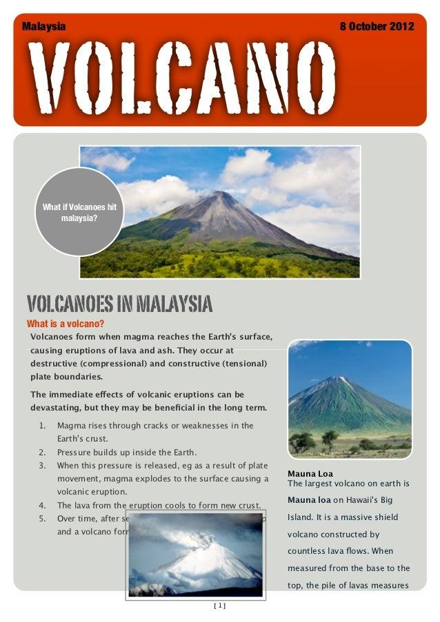 newsletter  volcano
