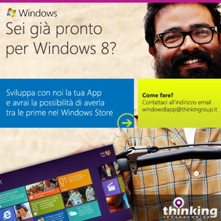 Sei già pronto per Windows 8?
