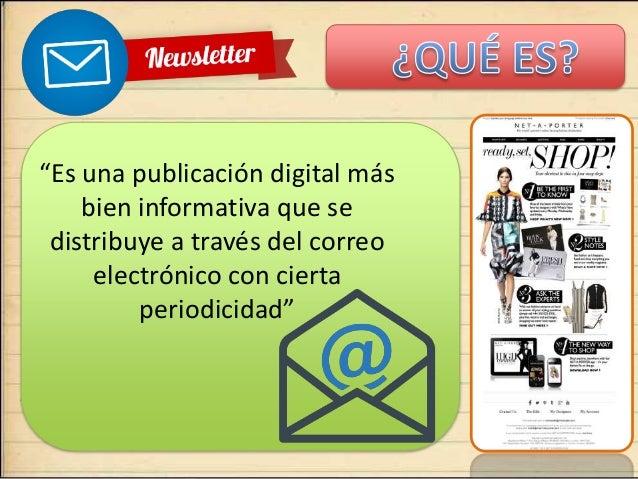 Diseño y Newslettter  Slide 2