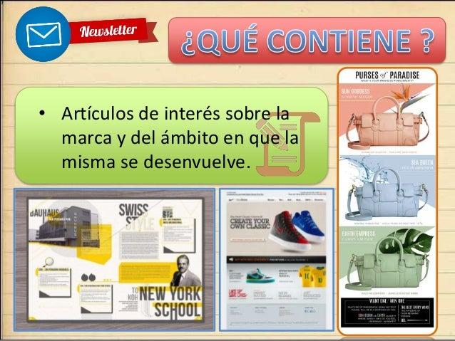 Diseño y Newslettter  Slide 3