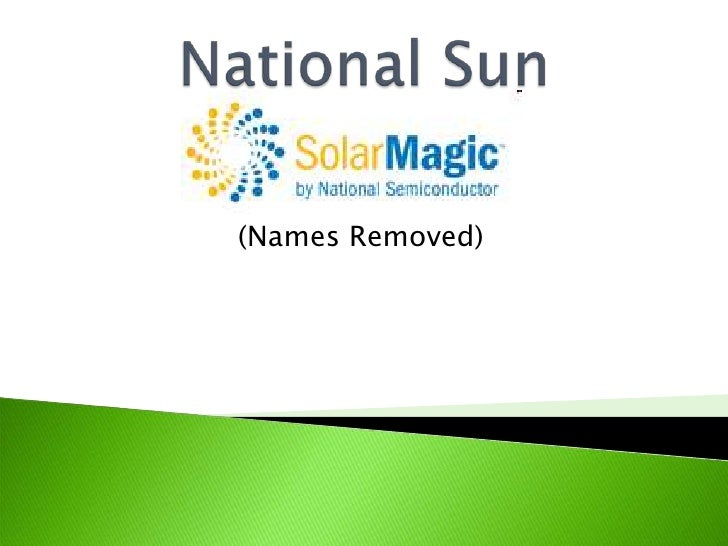 National Sun<br />(Names Removed)<br />
