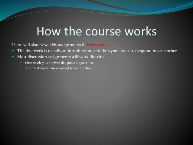 New slideshare for online classes - Canvas