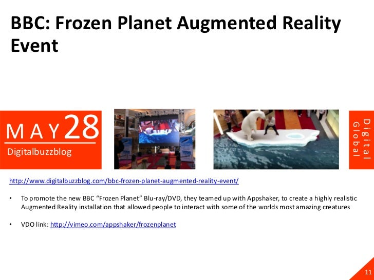 BBC: Frozen Planet Augmented RealityEvent                 28                                                              ...