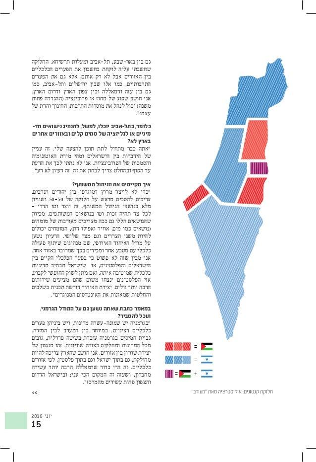 2016 יוני 15 החלוקה .תרשיחא ומעלות תל-אביב ,באר-שבע בין גם הכלכליים הפערים את בחשבון לוקחת עליה...