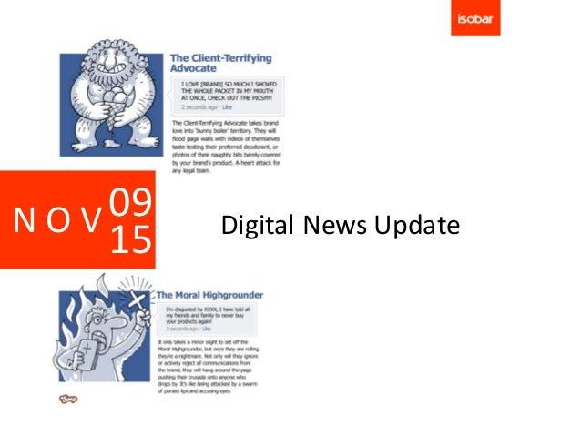 NOV 09   Digital News Update    15