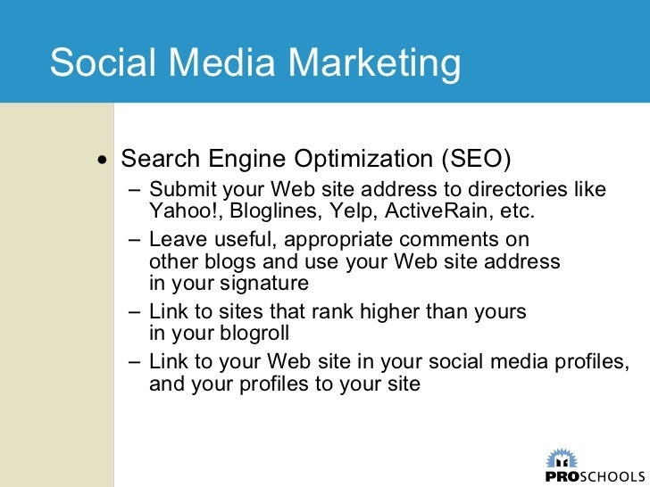 Social Media for Real Estate and Insurance Professionals slideshare - 웹