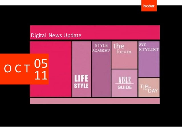 Digital News UpdateOCT 05    11