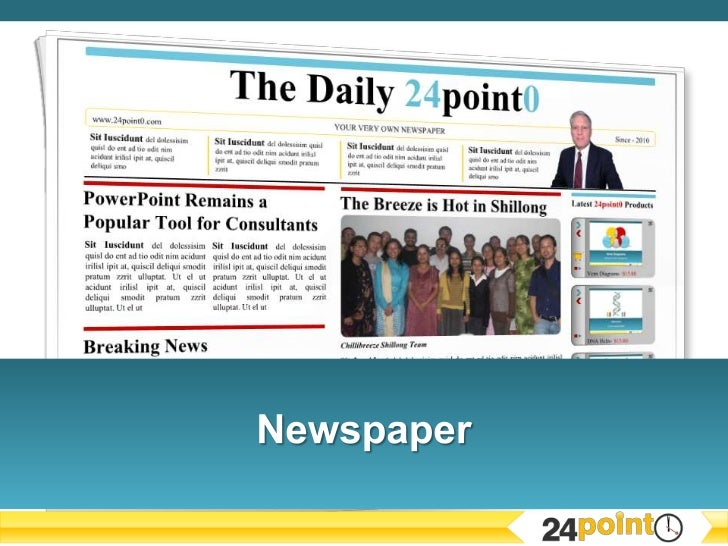 The Daily 24point0www.24point0.com                                              YOUR VERY OWN NEWSPAPER                   ...