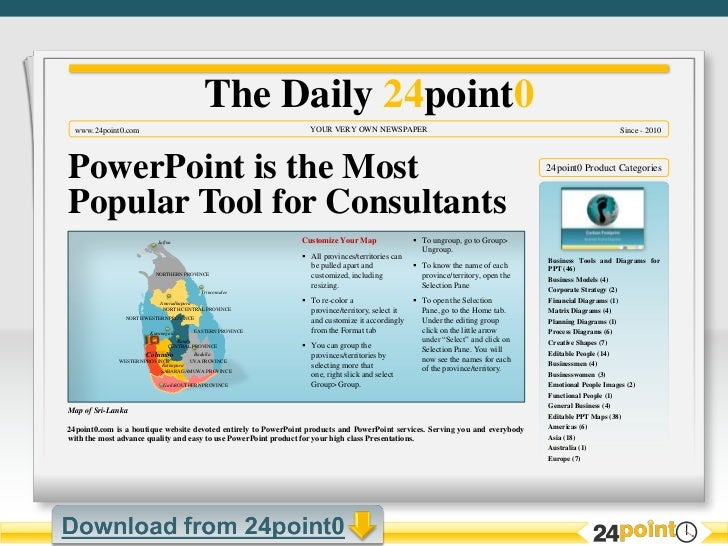 Newspaper Template For Powerpoint 2010 Idealstalist