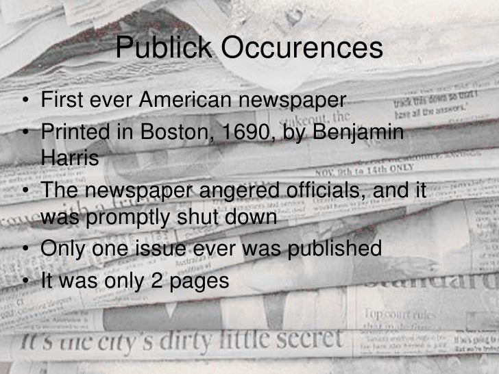 the history and evolution of the newspapers in america Learn about the history of american intelligence,  america's founders all agreed with washington that the  decoded telegrams, newspapers,.